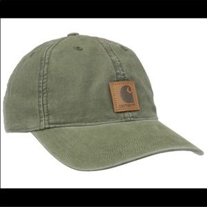 Men's Green Carhartt Hat Brand New with Tags